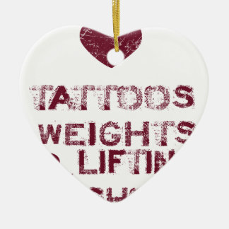 tattoos weights shoes female ceramic ornament