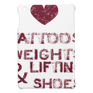 tattoos weights shoes female cover for the iPad mini