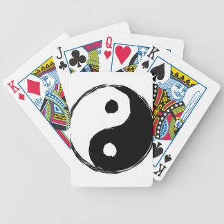 tau bicycle playing cards