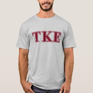 Tau Kappa Epsilon Red Letters T-Shirt
