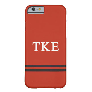 Tau Kappa Epsilon   Sport Stripe Barely There iPhone 6 Case