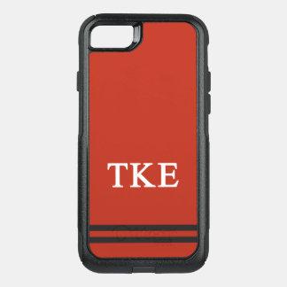 Tau Kappa Epsilon   Sport Stripe OtterBox Commuter iPhone 8/7 Case