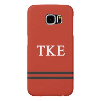 Tau Kappa Epsilon   Sport Stripe Samsung Galaxy S6 Cases