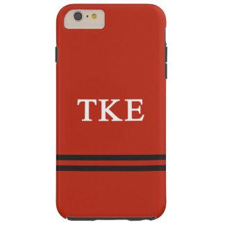 Tau Kappa Epsilon   Sport Stripe Tough iPhone 6 Plus Case