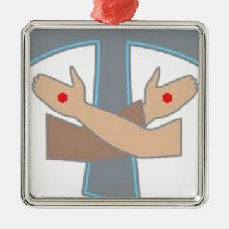 Tau Stigmata Chain, Decoration, Ornament, Stickers Metal Ornament