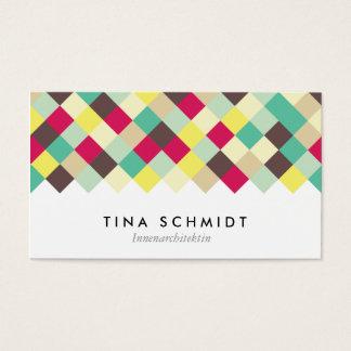 Tauchen Sie ein in Farbe Visitenkarten Business Card