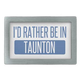 Taunton Belt Buckle