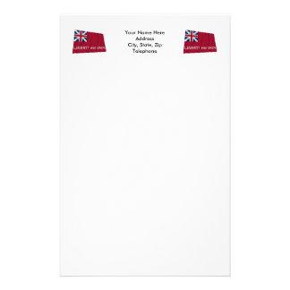 Taunton Flag Stationery Design