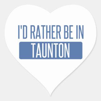 Taunton Heart Sticker