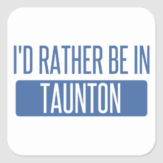 Taunton Square Sticker