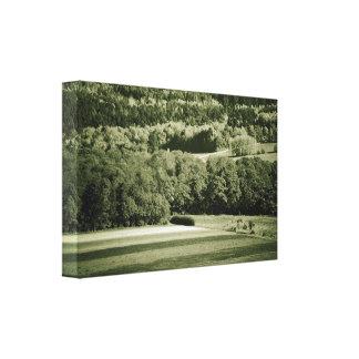Taunusgebirge Canvas Print