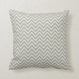 Taupe Chevron Pillow