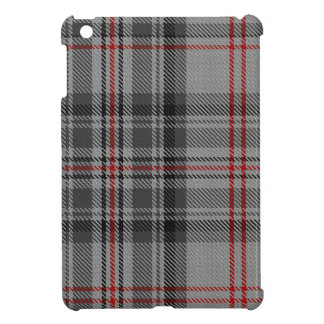 Taupe Grey Red Black Tartan Plaid Cover For The iPad Mini
