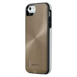 Taupe Metallic iPhone 5/5s Power Gallery™ Battery iPhone SE/5/5s Battery Case