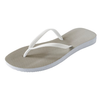 Taupe Ombre Wave flip-flops Thongs