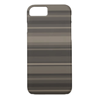 Taupe stripes iPhone 8/7 case