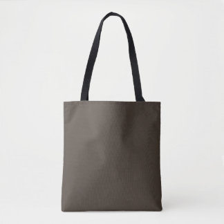 Taupe Tote Bag