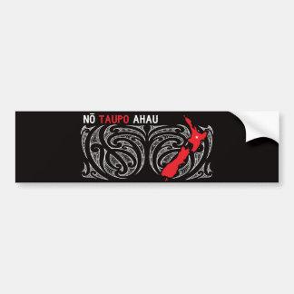 Taupo Aotearoa Map Pin Drop Bumper Sticker