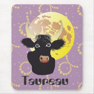 Taureau 21 avril outer 20 May Tapis de souris Mouse Pad