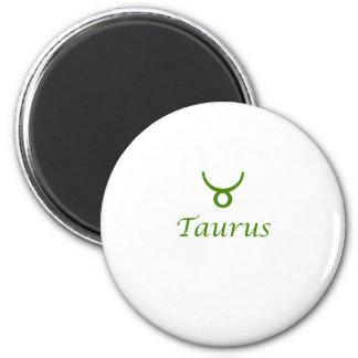 Taurus 6 Cm Round Magnet