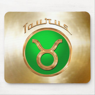 Taurus Astrological Sign Mouse Pad