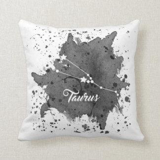 Taurus Black Pillow