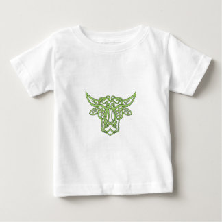 Taurus Bull Celtic Knot Baby T-Shirt