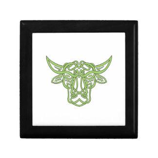 Taurus Bull Celtic Knot Gift Box