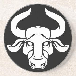 Taurus Bull Zodiac Astrology Sign Coaster