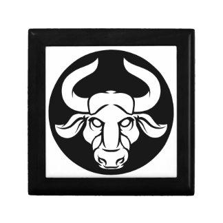 Taurus Bull Zodiac Astrology Sign Gift Box