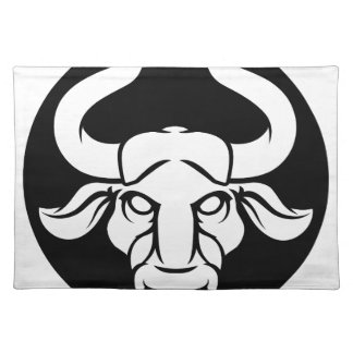 Taurus Bull Zodiac Astrology Sign Placemat