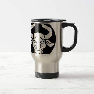 Taurus Bull Zodiac Astrology Sign Travel Mug