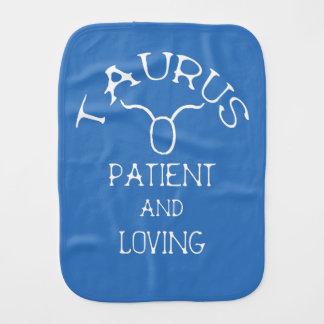 Taurus Burp Cloth