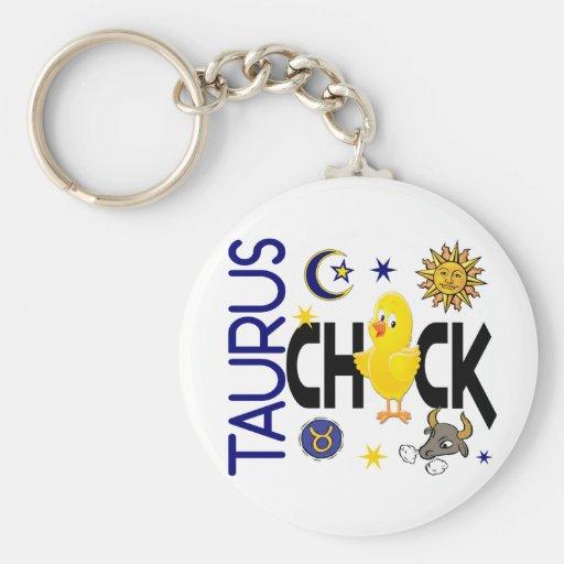 Taurus Chick 1 Key Chain