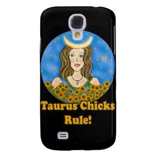 Taurus Chicks Rule! Galaxy S4 Cases