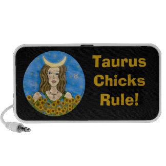 Taurus Chicks Rule PC Speakers