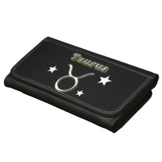 Taurus chrome symbol wallets
