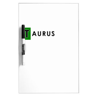 TAURUS COLOR DRY ERASE BOARD