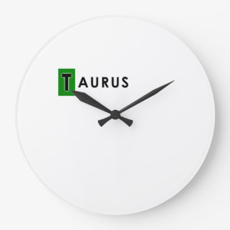 TAURUS COLOR LARGE CLOCK
