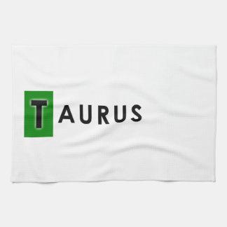 TAURUS COLOR TEA TOWEL