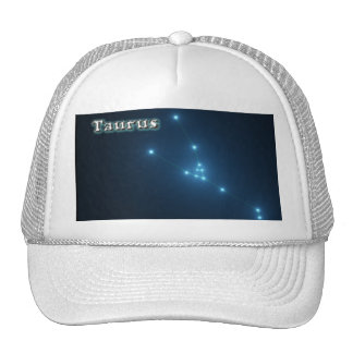 Taurus constellation cap