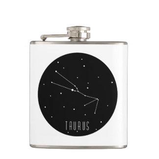 Taurus Constellation Hip Flask