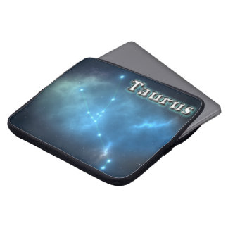 Taurus constellation laptop sleeve