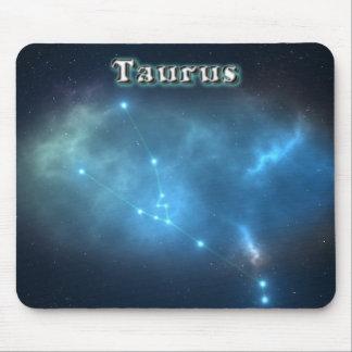 Taurus constellation mouse pad