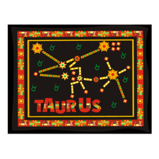 Taurus Constellation Postcard