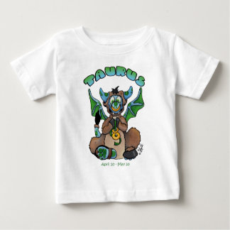 Taurus cute zodiac baby dragon baby T-Shirt