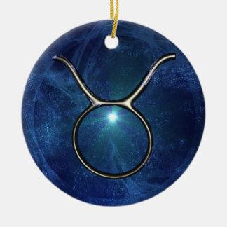 Taurus Christmas Tree Ornament