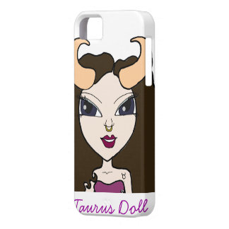 Taurus Doll iPhone 5 Barely There Case