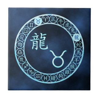 Taurus/Dragon Ceramic Tile