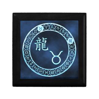 Taurus/Dragon Small Square Gift Box